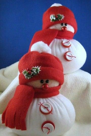 moldes de gorros para muñecos de nieve