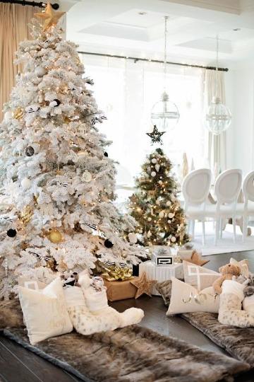 pinos de navidad artificiales decorados