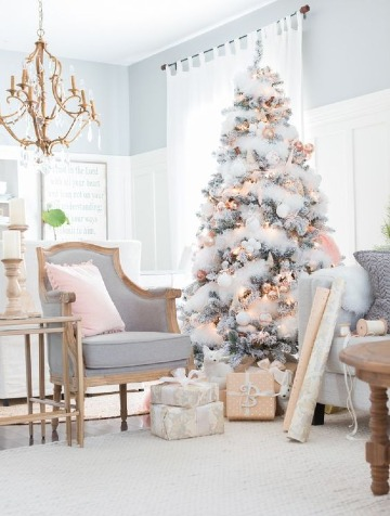 pinos de navidad artificiales modernos