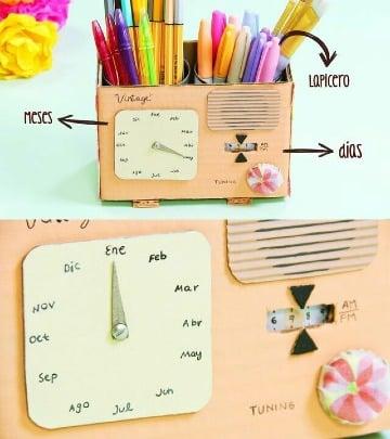 como hacer un calendario creativo y original