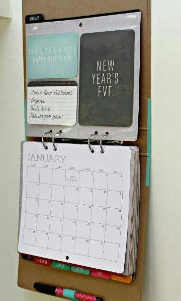 como hacer un calendario personalizado paso a paso