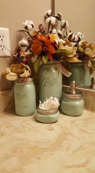 decoraciones recicladas para el hogar con frascos