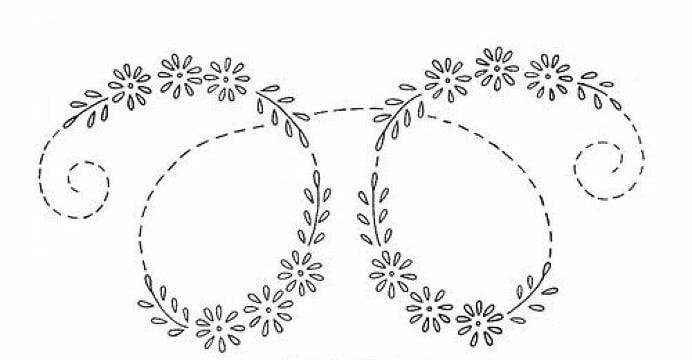 dibujos para bordar en pedreria para imprimir