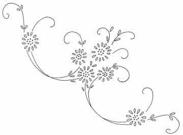 dibujos para bordar en pedreria sencillos