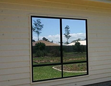 fotos de laminas efecto espejo para ventanas