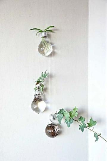 ideas de decoraciones recicladas para el hogar