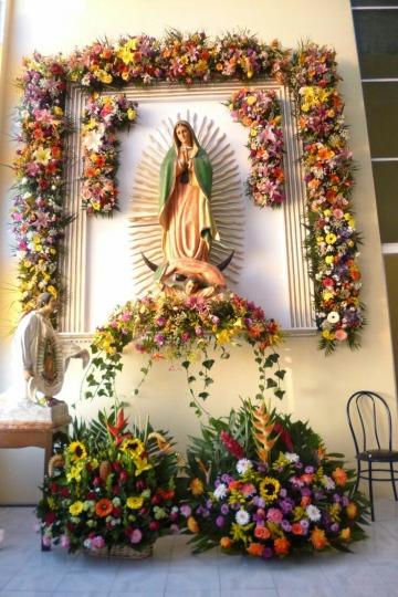 Ideas En Decoraciones Para La Virgen De Guadalupe 2018