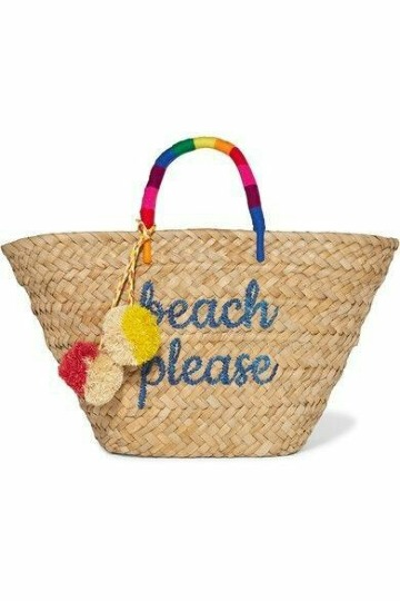 imagenes de cestas de mimbre playa