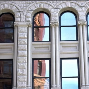 imagenes de laminas efecto espejo para ventanas