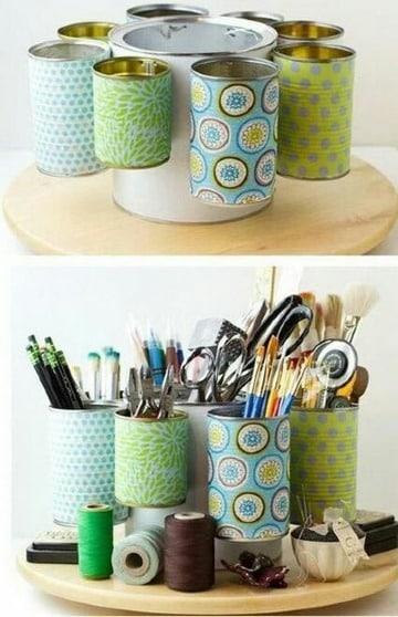 imagenes de manualidades para el hogar recicladas
