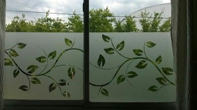 imagenes de vinilos esmerilados para ventanas