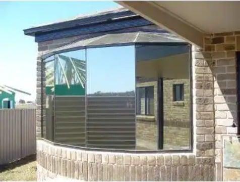 laminas efecto espejo para ventanas de oficina
