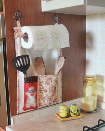 manualidades de cocina en tela faciles