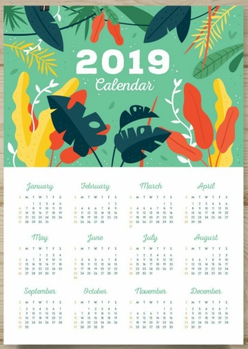 modelos de calendarios para imprimir gratis