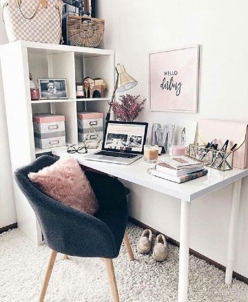 bonitas ideas para decorar escritorio