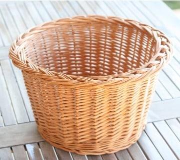 como hacer cestas de mimbre facil