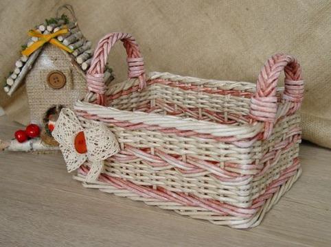 como hacer cestas de mimbre paso a paso