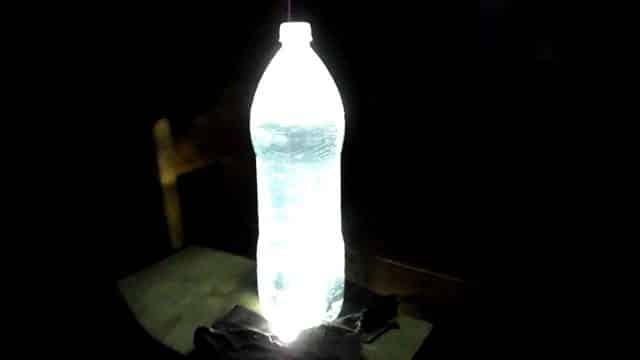 como hacer una lampara solar casera reciclaje