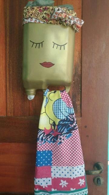 cosas con botellas plasticas para el hogar