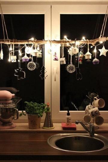 faciles ideas para decorar ventanas en navidad