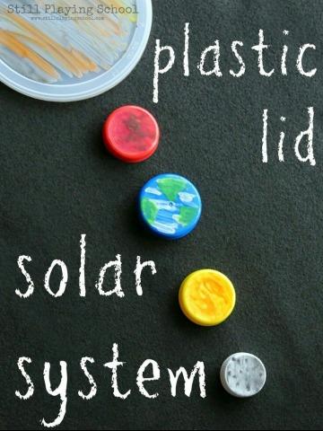 ideas de como hacer un sistema solar reciclado