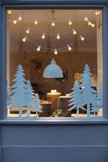 ideas para decorar ventanas en navidad originales