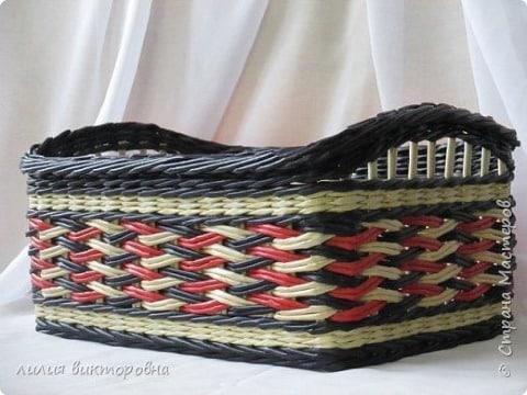imagenes de como hacer cestas de mimbre