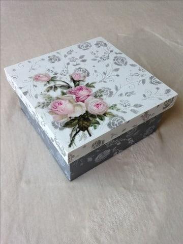 modelos de cajas decoradas con servilletas
