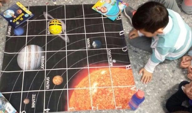 sistema planetario para niños divertido
