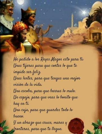 tarjetas de dia de reyes magos para enviar