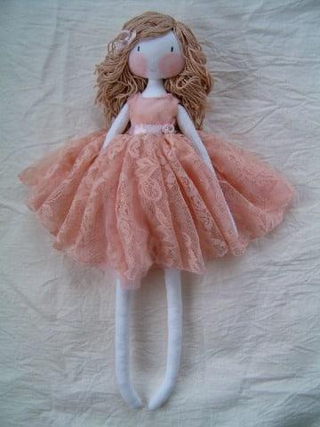 bonitas muñecas de tela paso a paso
