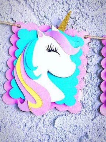 como hacer un unicornio de papel facil