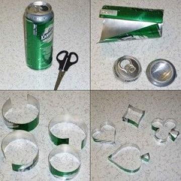 ideas de que hacer con latas de cerveza