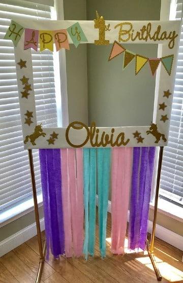 manualidades para cumpleaños de niña 1 año