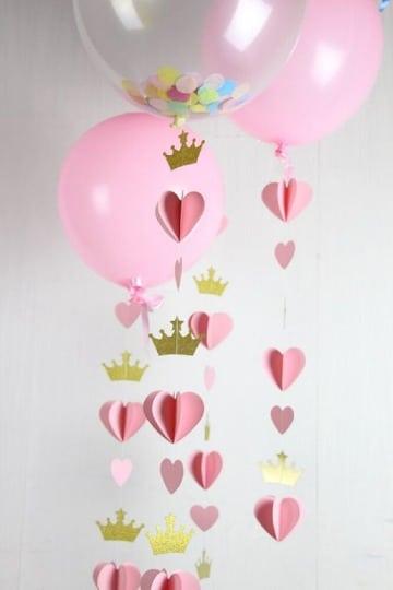manualidades para cumpleaños de niña faciles de hacer