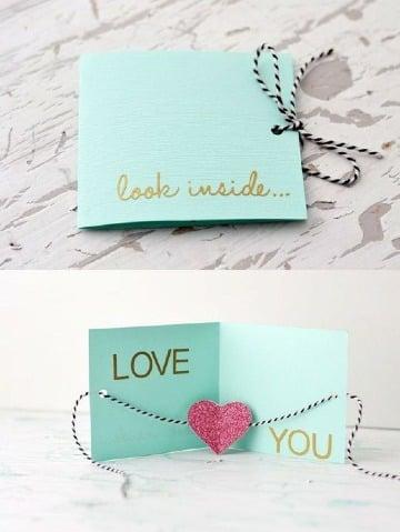 modelos de tarjetas para el dia de san valentin