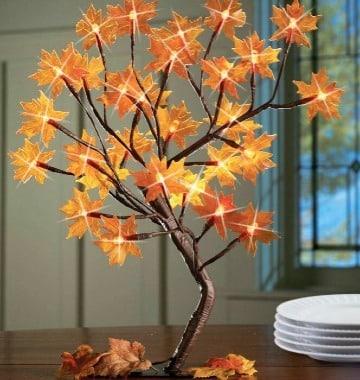 ideas de decoracion con hojas secas