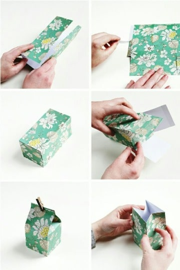 como hacer cajitas de cartulina facil