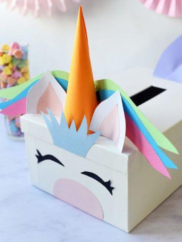 como hacer una caja de carton para dulces