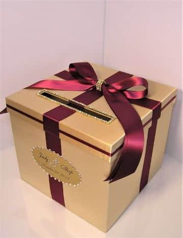 como hacer una caja de carton para regalo