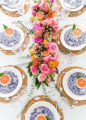 fotos de plantas para centros de mesa