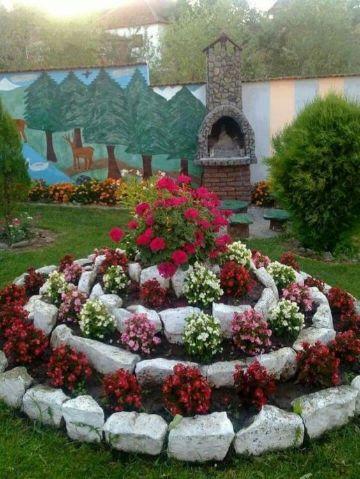 ideas para decorar tu jardin con piedras
