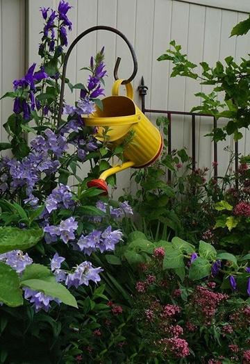 originales ideas para decorar tu jardin