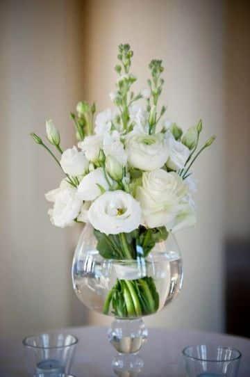 plantas para centros de mesa de boda