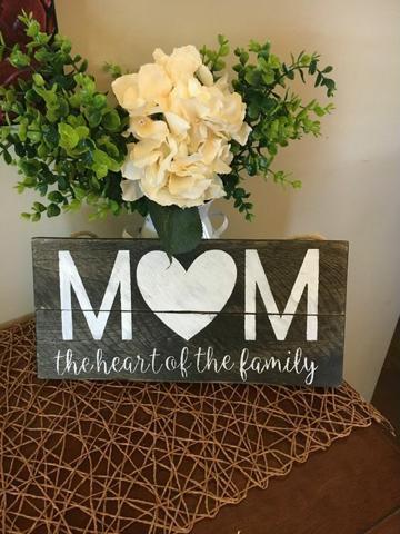 recuerdos por el dia de la madre en madera