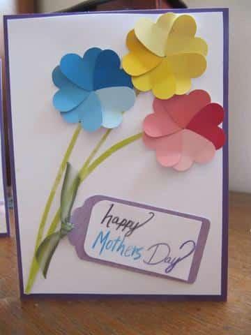 regalos caseros para el dia de la madre tarjeta