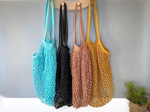 bolsas ecologicas de tela tejidas