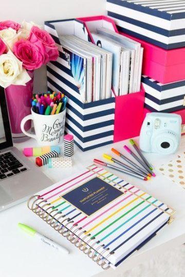 como hacer organizadores de carton de libros