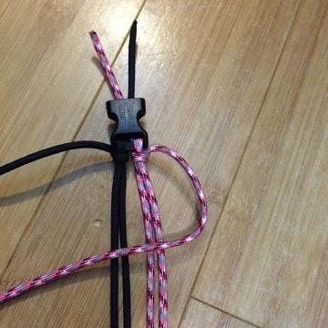 como hacer un collar para perro paracord