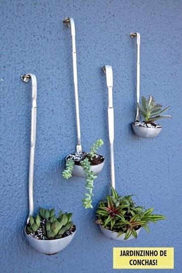 maceteros reciclados para jardin originales